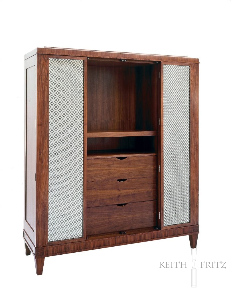 French Moderne Armoire 1